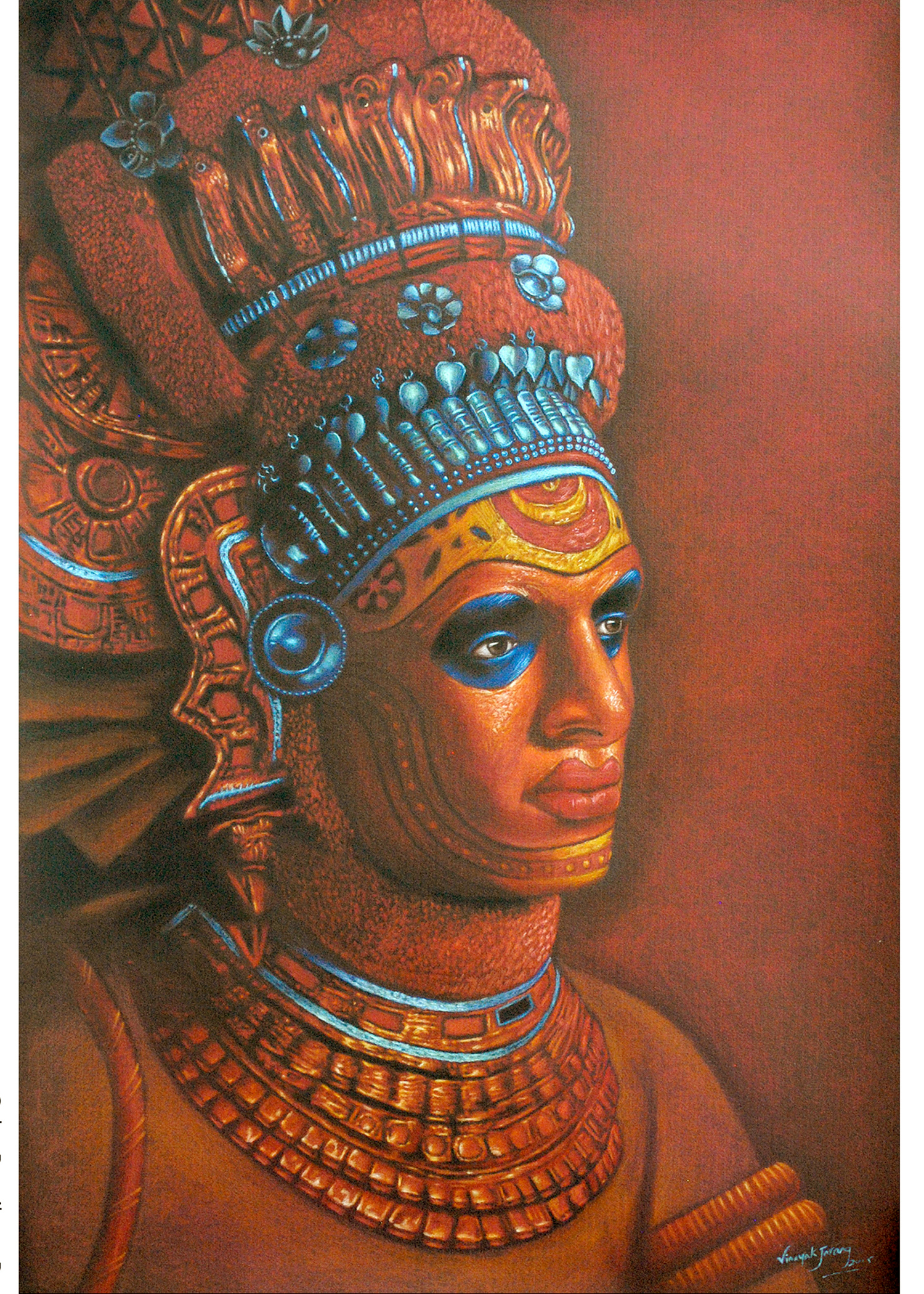 BUY FIGURATIVE PAINTINGS ONLINE THEYYAM 2