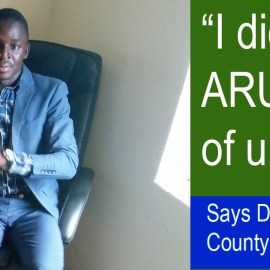 I didn't know what ARU is capable of until today, says Hon. Akugizibwe Livingstone