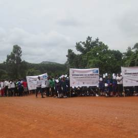 "ARU and URDT in partnership with World Voices Uganda, Reproductive Health Uganda, The Red Cross, and KCSON Commemorate the International Peace Day on a theme ""Climate Action for Peace"""