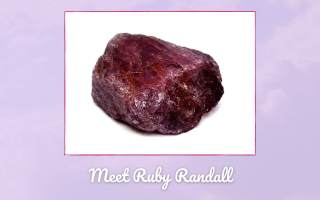 Meet Ruby Randall Picture of a Ruby in the Rough