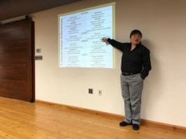 Rosetta Lee, a diversity speaker, gave a talk last night to parents of Key School students. Photo: APat Staff