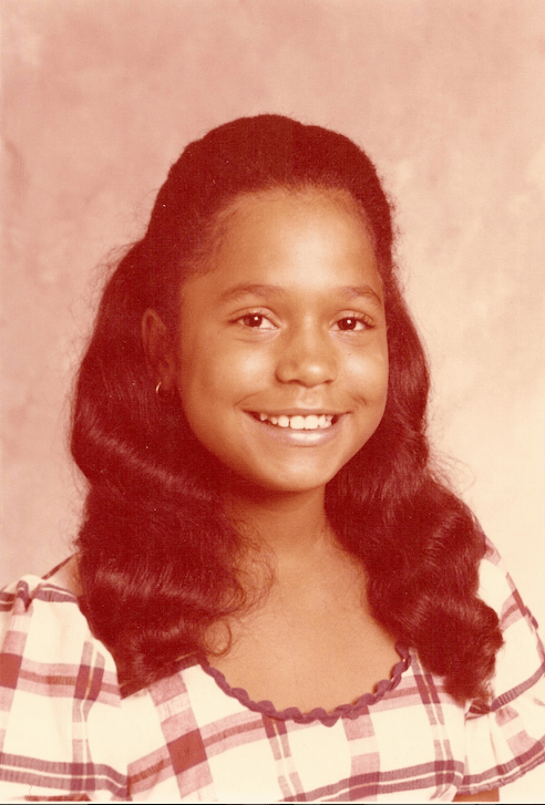 My middle school picture, taking the same year I was attacked by three older white boys who broke my wrist and called me racial slurs. Photo: Vickie Gipson