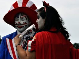 Juggalo March on Washington on March 17. Photo: Polly Peters