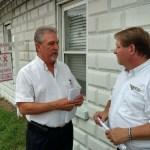 Scott with Magothy Health Center Director