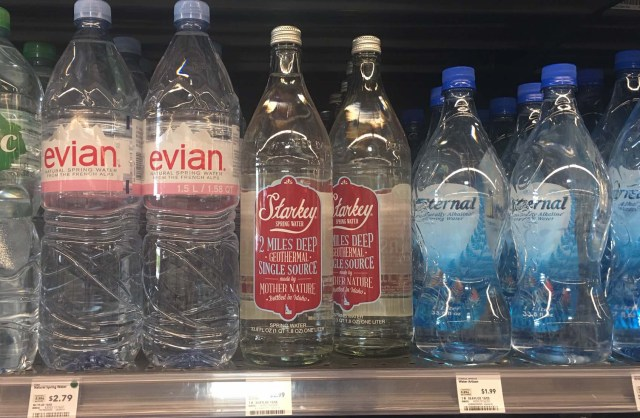 Starkey Water with Arsenic on the shelves at Whole Foods.