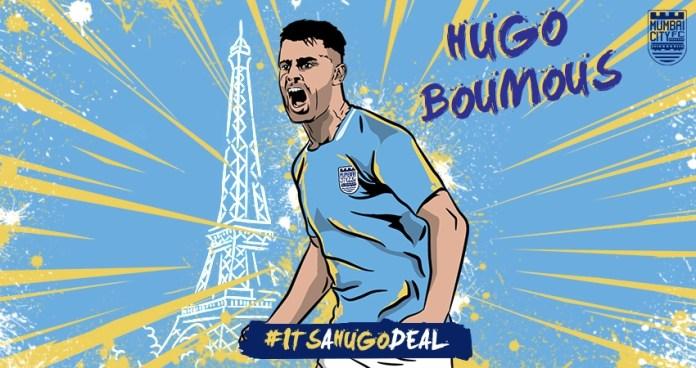Mumbai City FC complete move for Hugo Boumous!