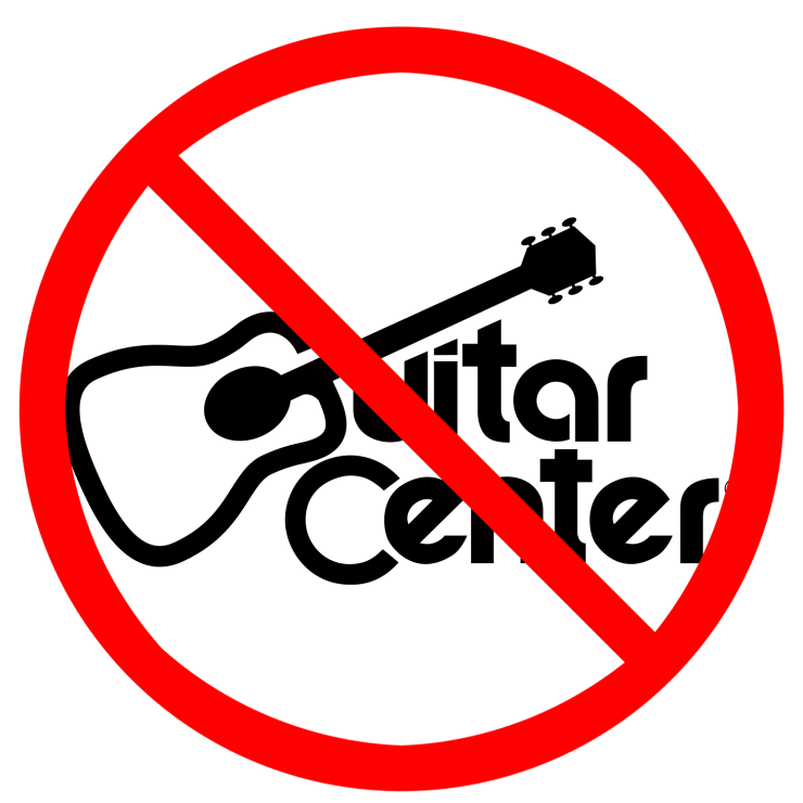 Arvada Guitar says NO to Guitar Center!