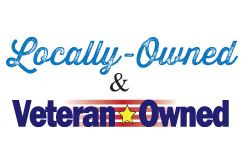 locally-owned and veteran-owned