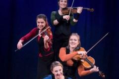 Lönnebergakvartetten. Foto: Nikola Stankovic.