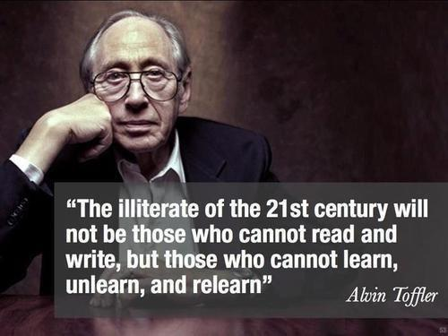 Unlearn in life