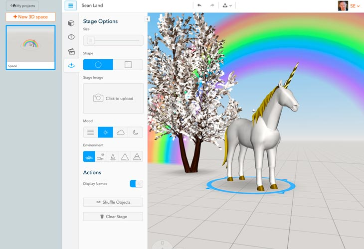 Easily Assemble & View VR Scenes with the CoSpaces App