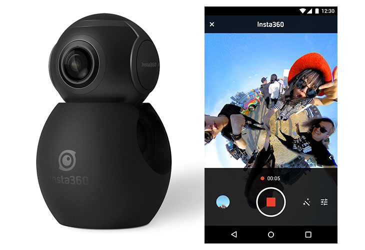 Insta360 Unveils Indiegogo Campaign for Insta360 Air HD 360-degree LiveStream Camera for Android