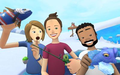 Facebook Spaces Users Can Now Fish with Friends with 'Bait! Arctic Open' by Resolution Games