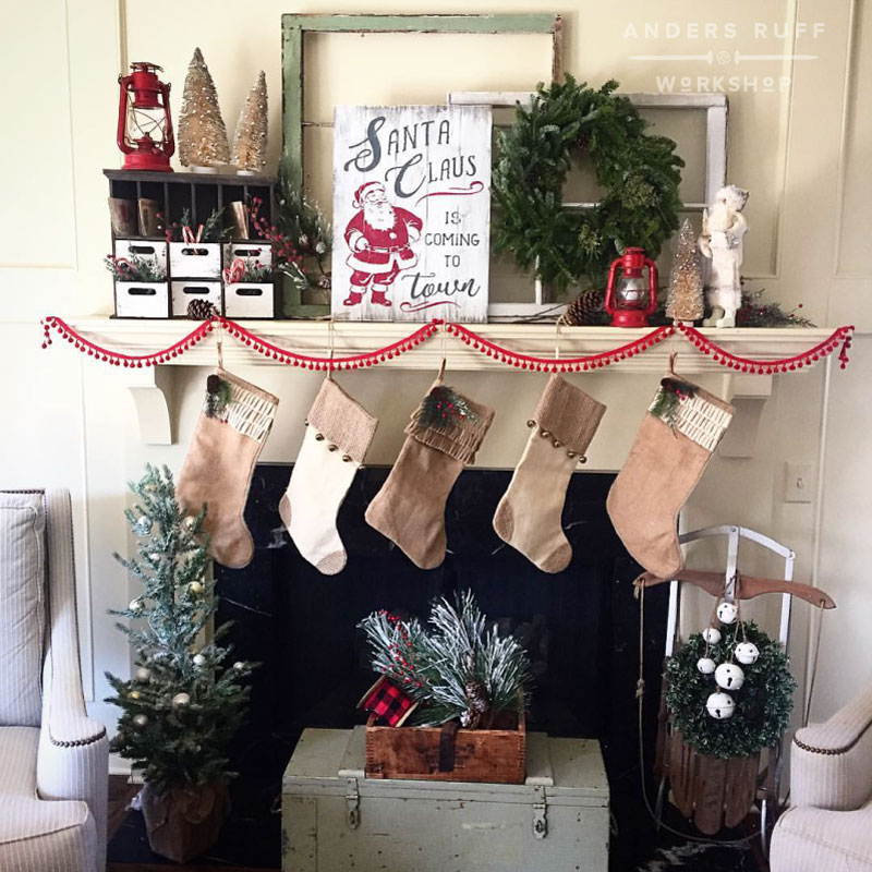 Christmas Decorations Made Wood Pallets