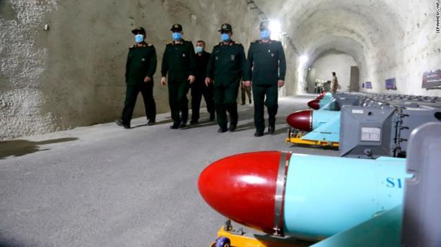 Το Ιράν αποκαλύπτει υπόγεια πυραυλική βάση στις ακτές του Κόλπου, σύμφωνα με κρατικά μέσα
