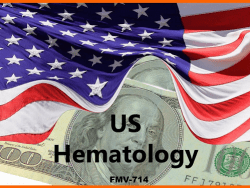 KOL FMV RATES US HEMATOLOGY
