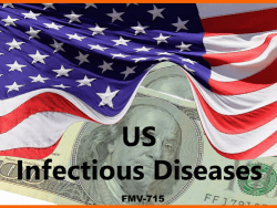 KOL FMV RATES US INFECTIOUS DISEASES