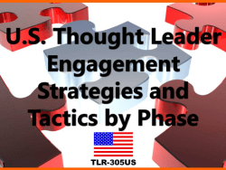 US Thought Leader Engagement by Phase