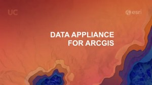 ESRI data appliance