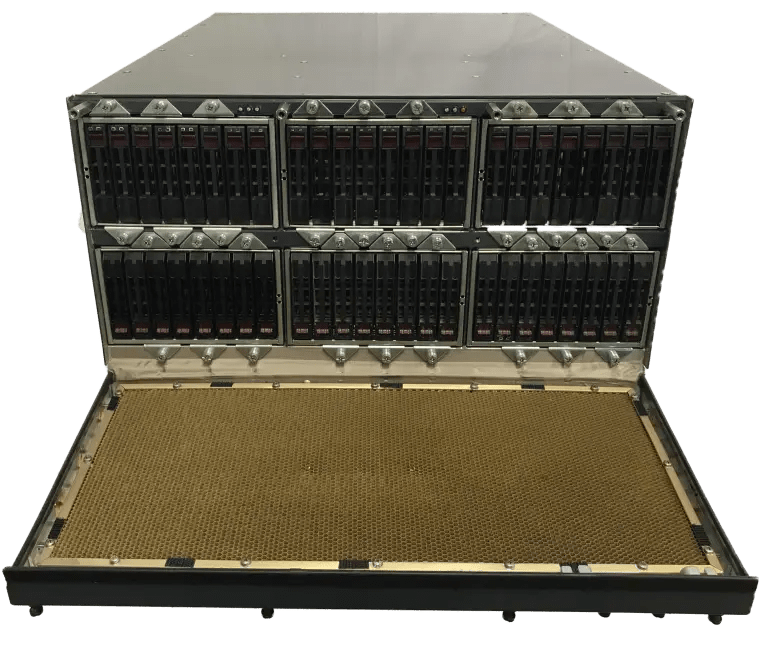 ruggedized high availability mil-spec storage