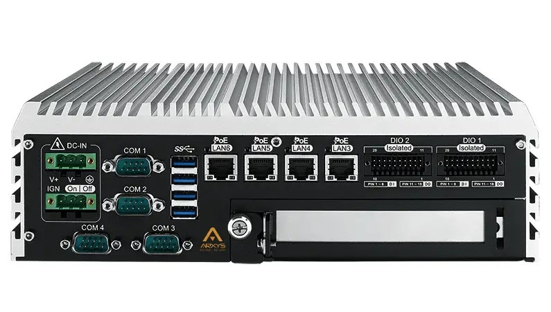rugged mobile NVR POE low power