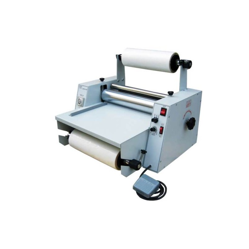VANSDA 280P SCE LAMINATING MACHINE Possibility to laminate with gloss or matte finish. Perfect to give a more luxurious finish to cards, invitations, book covers, etc.