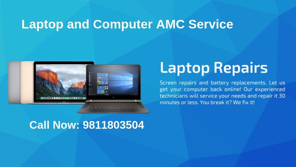 Computer, Laptop, Printer AMC Services in Delhi, Gurgaon, Noida, Ghaziabad & Delhi NCR