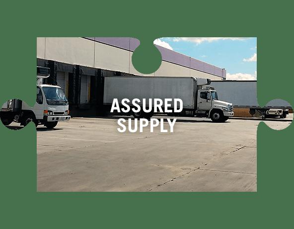 Assured supply jigsaw piece