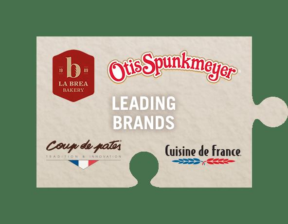 Leading brands jigsaw piece