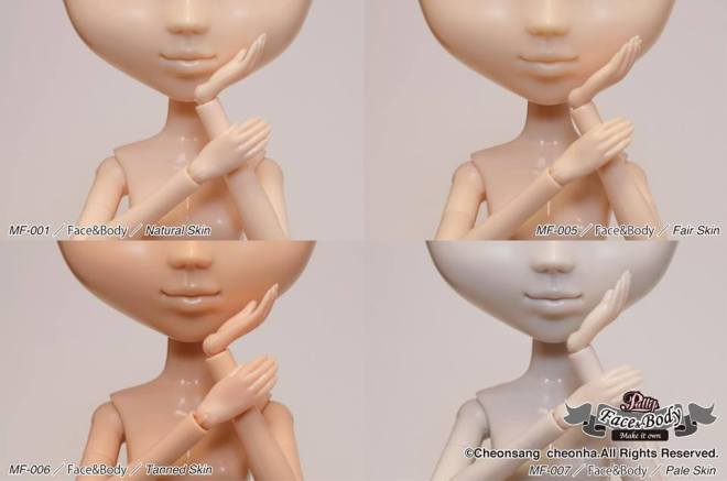 Pullip Make It Own new skins