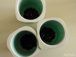 Pommier Pots avec billes argile