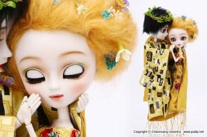 Prototypes de 2012 Pullip Taeyang Gustav Klimt
