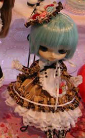 Prototype Dal Blue Hair Brown Dress 2009