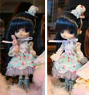 Prototype Dal Color Lolita Blue Hair 2009
