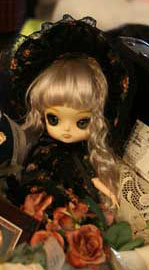 Dal Vintage Flower Lolita White Hair 2009