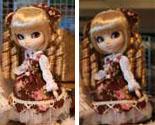 Prototype Pullip Brown Lolita Fair Hair 2009