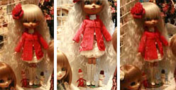 Pullip Manteau Rouge et Fleur 2009