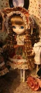 Prototype Pullip Vintage Flower Lolita Fair Hair 2009