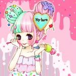Kawaii Girl Ice Cream