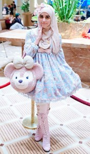 Muslim lolita Hijab japanese fashion