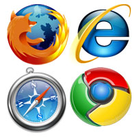 Geek Zone icones navigateurs
