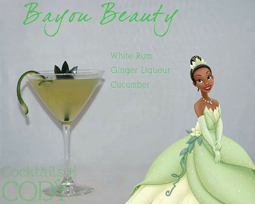 Cocktail Disney Princess and the Frog by Cody