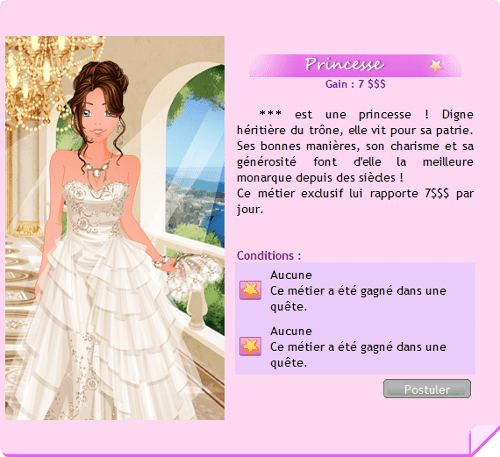 OMD Job Princesse