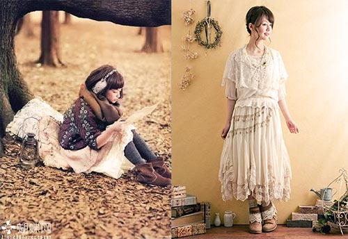 Mori girl nature style