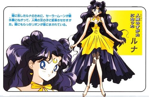 Sailor Moon Luna Human Version