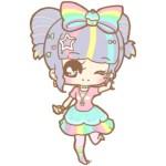 Rainbow Chibi doll