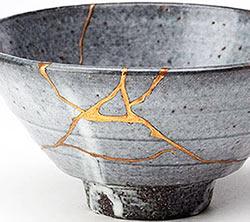 Kintsugi ceramic