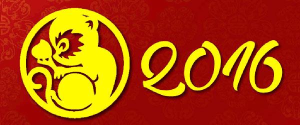 Nouvel An chinois 2016 singe feu