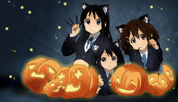 Anime Halloween K-on