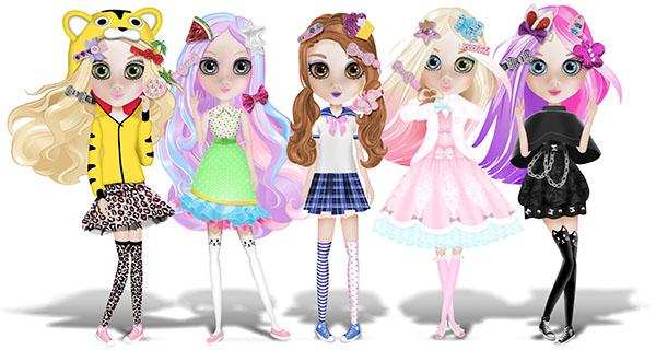 Dolls Shibajuku Girls lineup 20 jan 2016